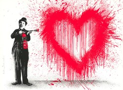 Spray Love by Mr Brainwash - Silk Screen Edition sized 30x22 inches. Available from Whitewall Galleries